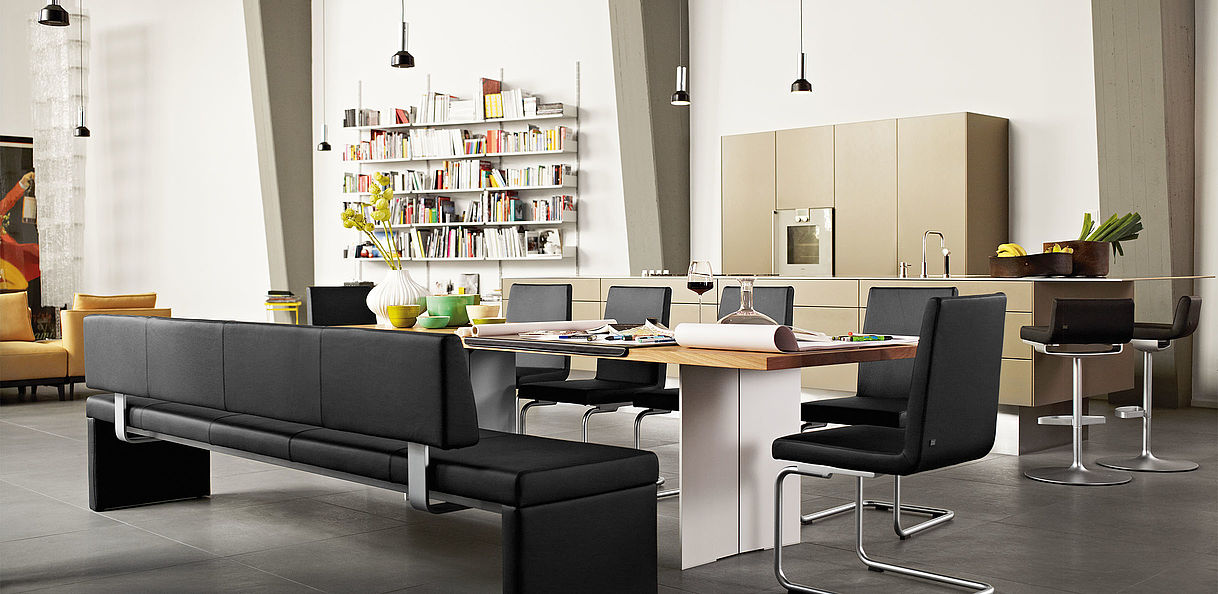 Rolf Benz Bank Design.620 Chair
