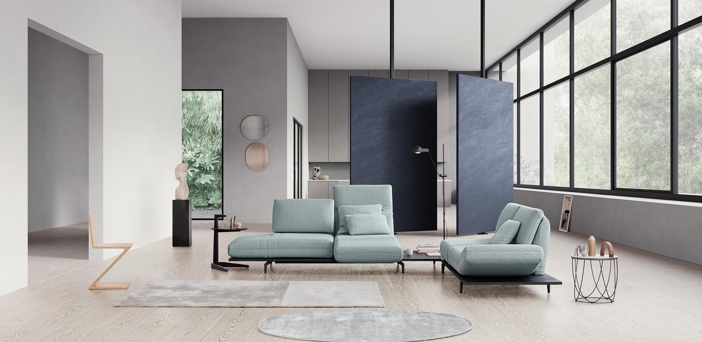 Design Bank Rolf Benz 322.Aura
