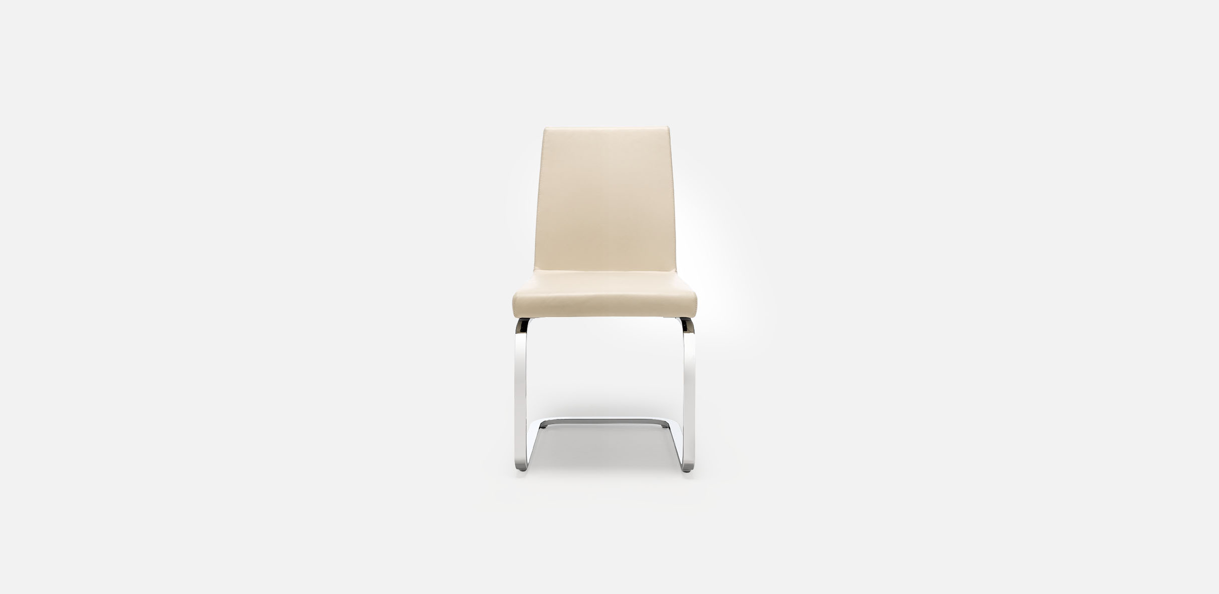 620 chair - Lederstuhl beige ...
